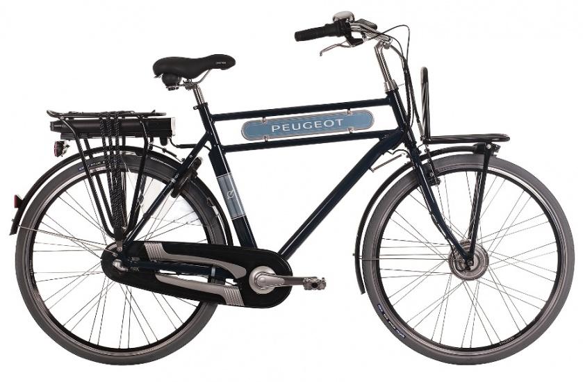 Peugeot CE 161 28 Inch 61 cm Heren 3V Rollerbrakes Blauw