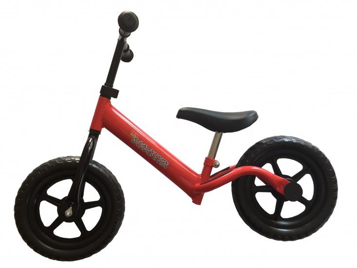 Pexkids Kinder Scooter Loopfiets 12 Inch Meisjes Rood