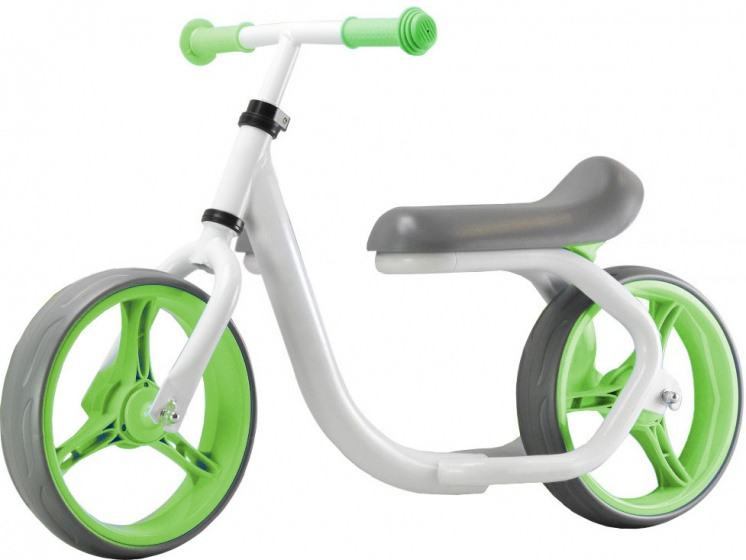 Pexkids Max Speed 10 Inch Junior Wit/Groen