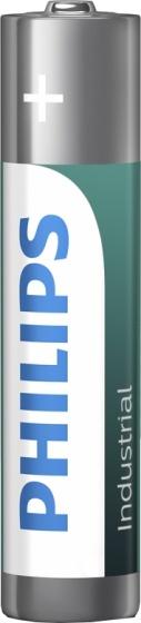 Philips batterijen AAA Industrial zilver/groen 10 stuks
