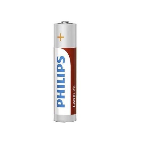 Philips batterijen AAA/LR3 longlife 1,5 Volt 4 stuks