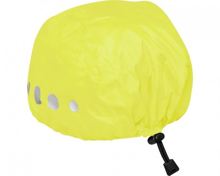 Playshoes regenhoes fietshelm polyester geel maat S