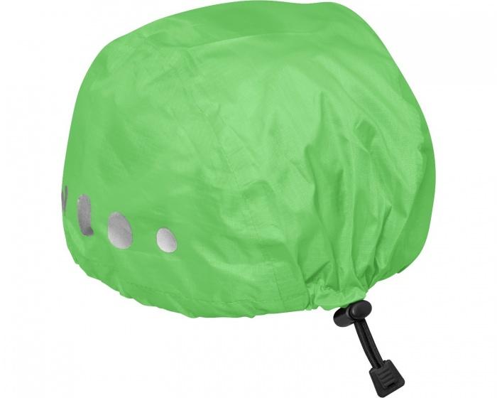 Playshoes regenhoes fietshelm polyester groen maat M