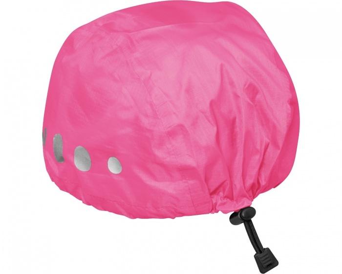 Playshoes regenhoes fietshelm polyester roze maat S