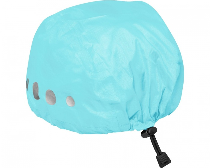 Playshoes regenhoes fietshelm polyester turquoise maat S