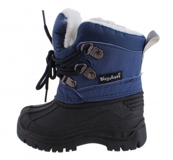 de marine noir lacets 2021 bottes neige avec taille garçon v8mnwN0