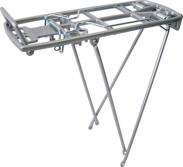 Pletscher bagagedrager Athlete PS 26 28 inch aluminium zilver
