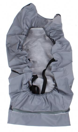 Plus regenhoes baby polyester 70 cm grijs
