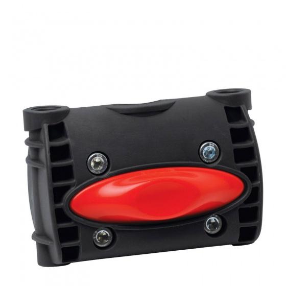 Korting Polisport Adapter Achterzitje 10 Cm Framebevestiging Zwart