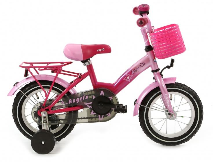 Popal Angel 12 Inch 22 cm Meisjes Terugtraprem Roze