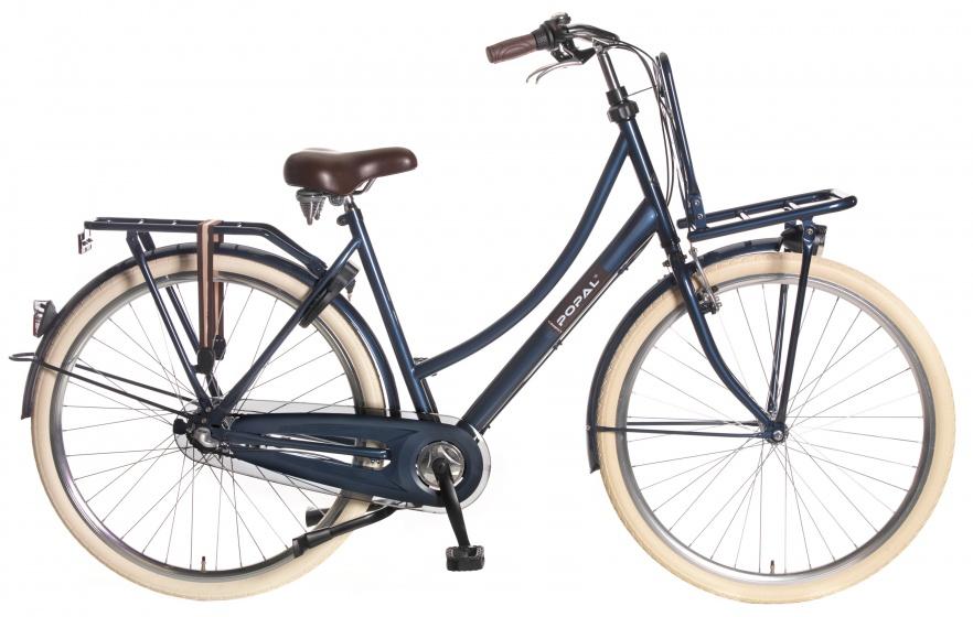 Popal County Roll+ 28 Inch 53 cm Dames 3V V Brake Donkerblauw
