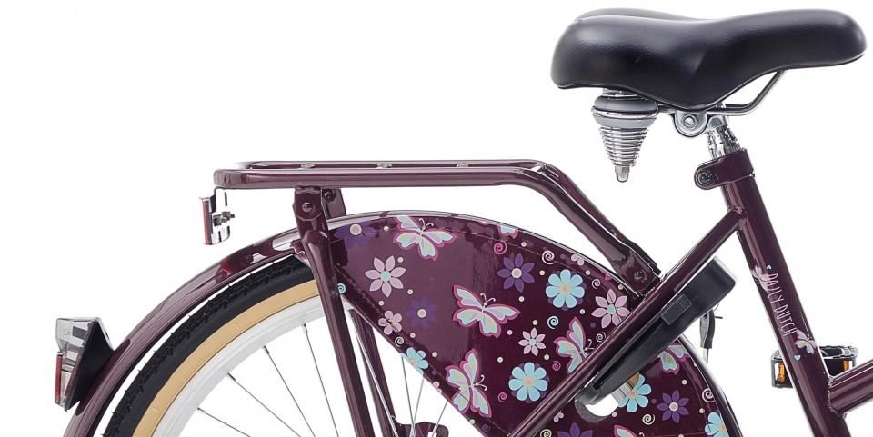 popal daily dutch basic 22 zoll 36 cm m dchen r cktrittbremse violett internet bikes. Black Bedroom Furniture Sets. Home Design Ideas