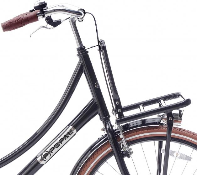 popal daily dutch basic 26 zoll 46 cm m dchen r cktrittbremse schwarz internet bikes. Black Bedroom Furniture Sets. Home Design Ideas