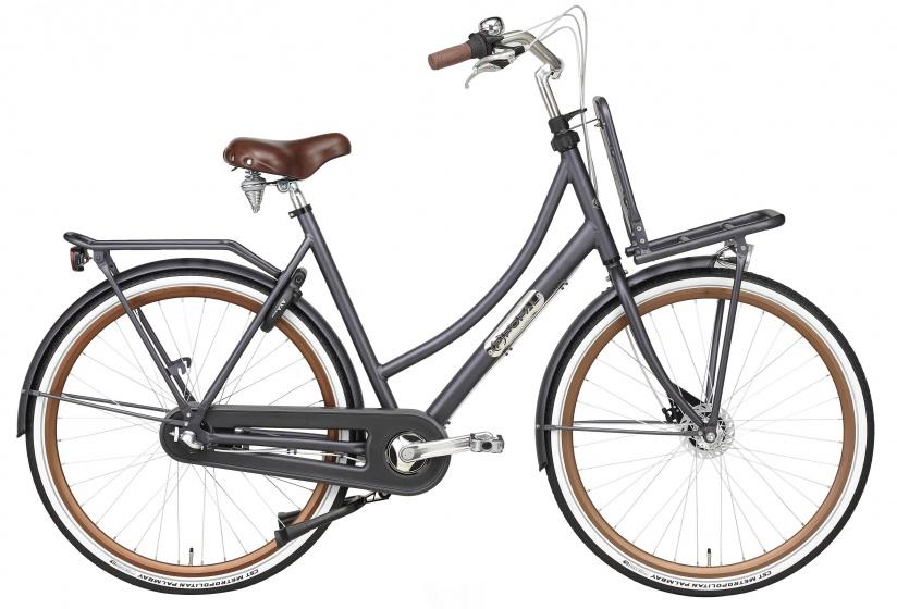 Popal - Daily Dutch Prestige 28 Inch 50 Cm Dames 3v Rollerbrake Petrol Blauw