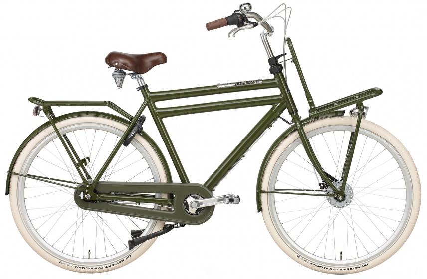 Popal Daily Dutch Prestige 28 Inch 50 cm Heren 7V Rollerbrakes Groen