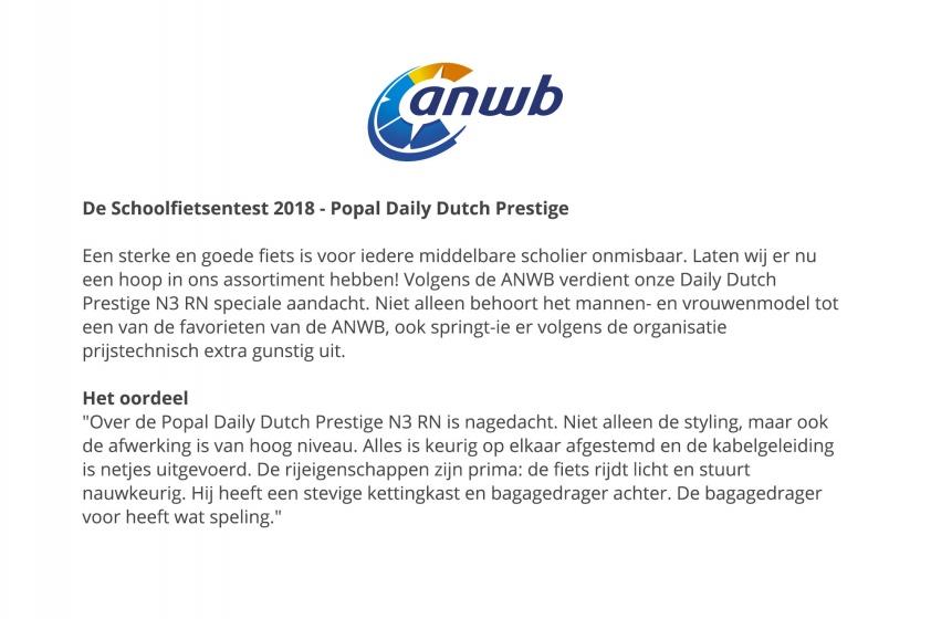 Popal Daily Dutch Prestige 28 Inch 57 cm Dames 3V Terugtraprem Lichtgroen