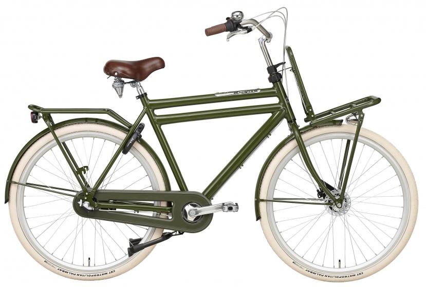 Popal - Daily Dutch Prestige 28 Inch 65 Cm Heren 3v Rollerbrakes Groen