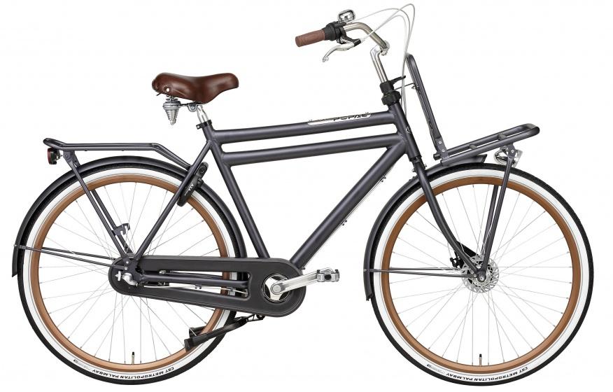 Popal - Daily Dutch Prestige 28 Inch 50 Cm Heren 3v Rollerbrakes Petrol Blauw