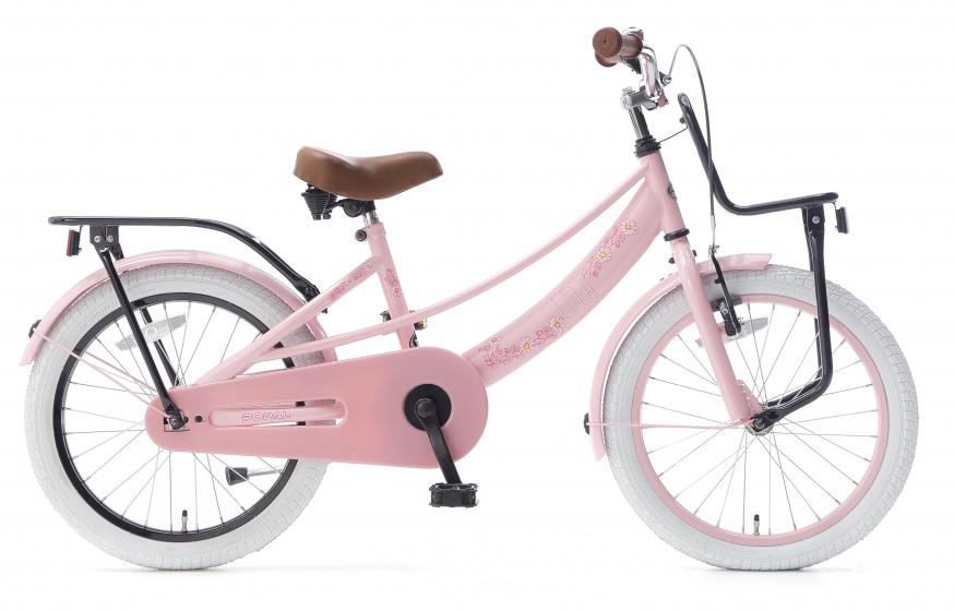 Popal Lola 18 Inch 30 cm Meisjes Terugtraprem Roze/Zwart