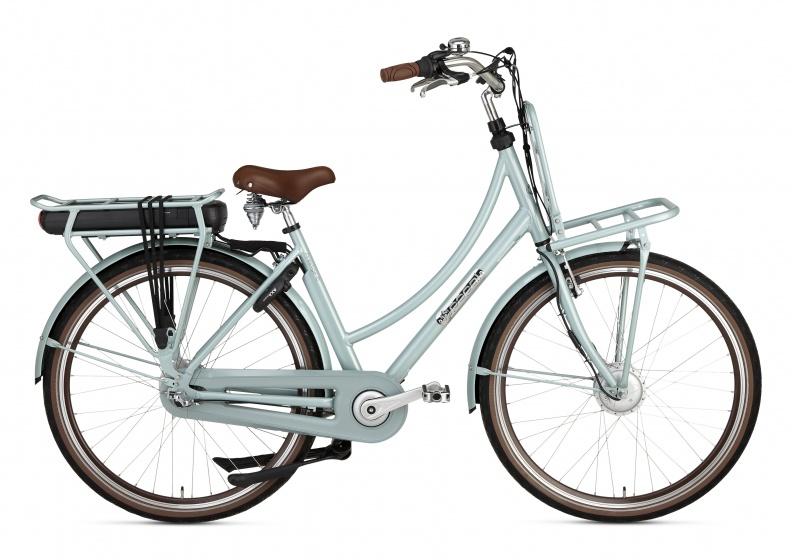 Popal Prestige E 28 Inch 57 cm Dames 3V Rollerbrake Groen
