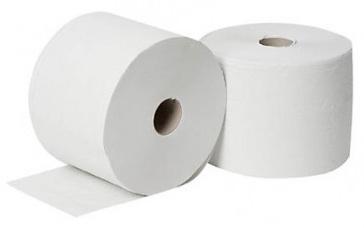 Primp CEL papierrollen 1 laags 1000 meter 2 stuks