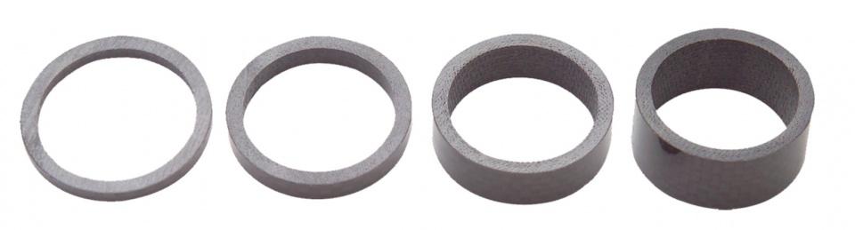 Pro spacerset 1 1/4 inch Carbon zwart