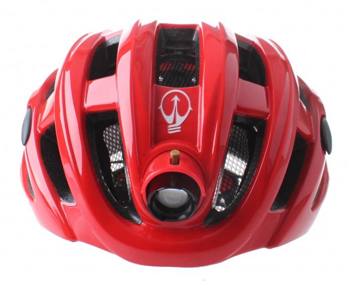 Pro Sport Lights fietshelm met verlichting unisex rood mt 49 59