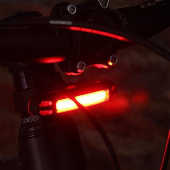 Pro Sport Lights fietsverlichting 2 in 1 voor of achter led oplaadbaar