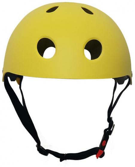 Pro Sport Lights fietshelm junior polystyreen geel maat M