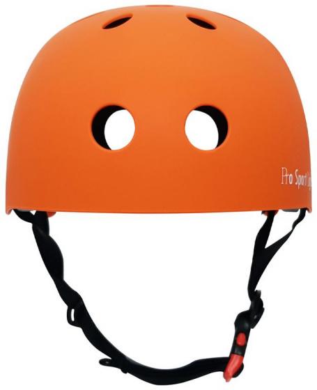 Pro Sport Lights kinderfietshelm polystyreen oranje maat M