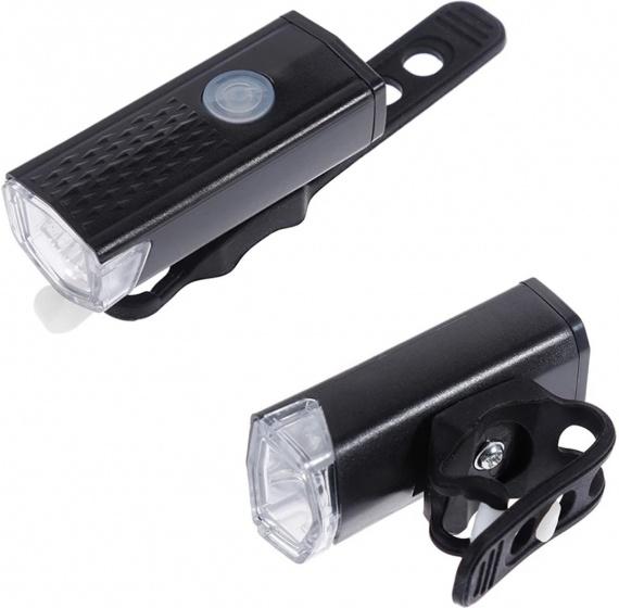 Pro Sport Lights voorlicht Compact led oplaadbaar zwart