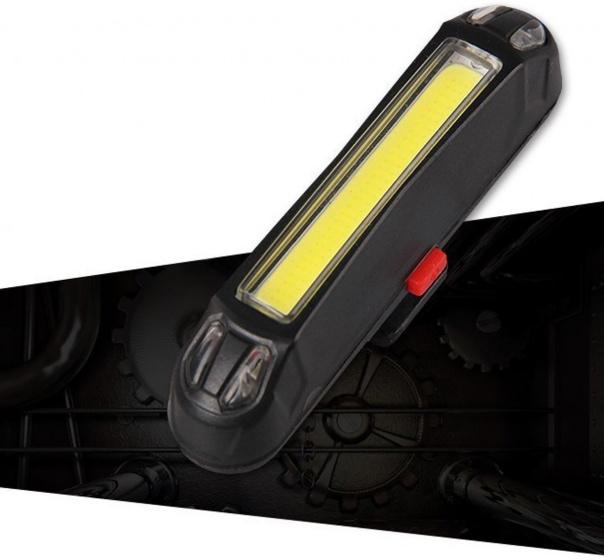 Pro Sport Lights voorlicht led oplaadbaar 100 lumen zwart