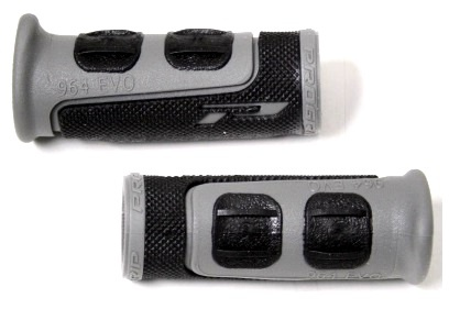 Progrip Handvat MTB 963 Gripshift Grijs Zwart 80mm Per Paar