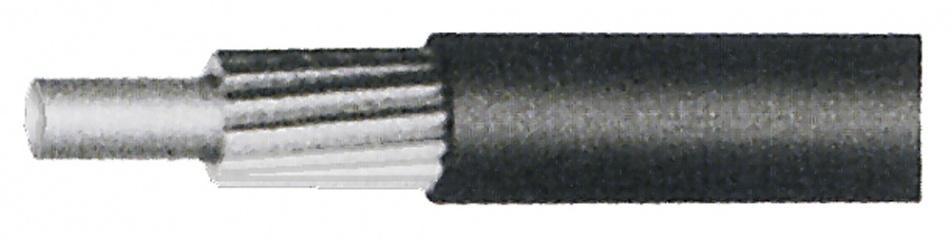 Korting Promax Buitenkabel Voor Derailleur Zwart 5 Mm 30 Meter