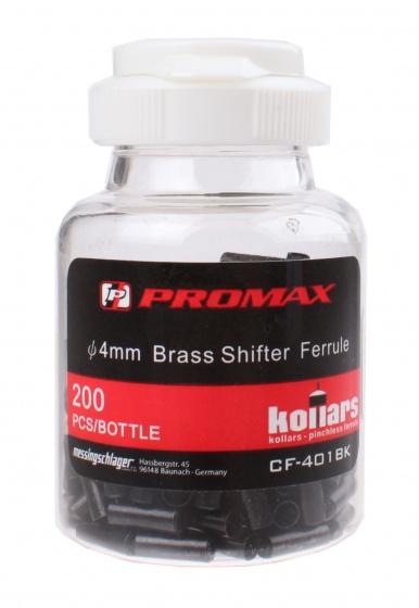 Promax kabelhoedjes shifterkabel 4 mm zwart 200 stuks