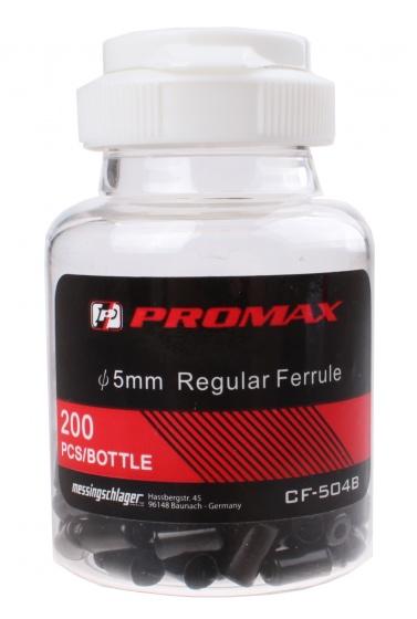 Promax kabelhoedjes universeel 5 mm zwart 200 stuks
