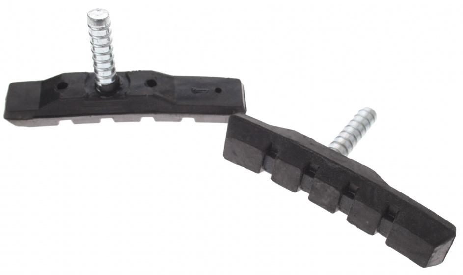 Promax remblokken cantilever 70 x 13,5 mm zwart 2 stuks