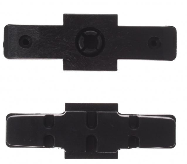 Promax remblokrubbers hydraulisch 50 x 17 mm zwart 2 stuks
