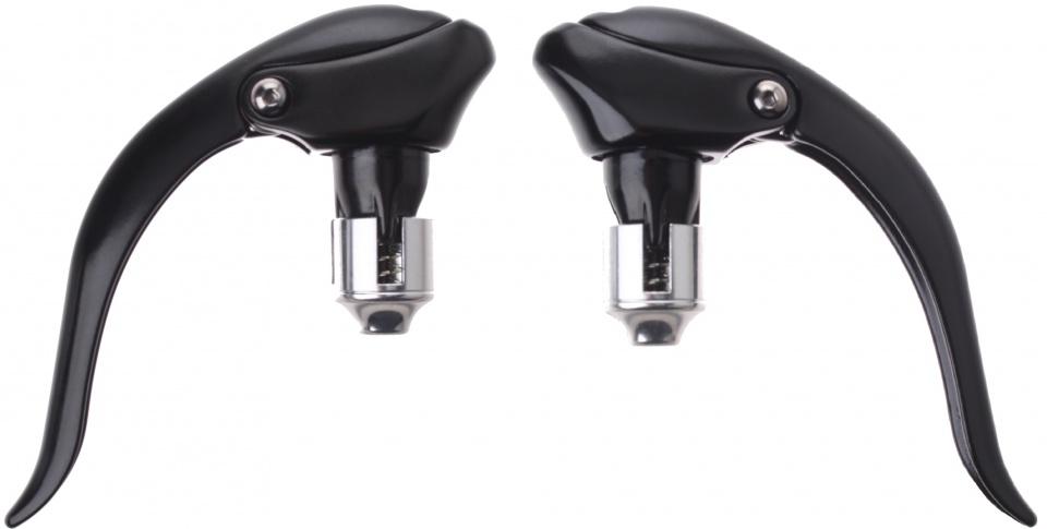 Promax remgrepen set V brake 3 vinger zwart