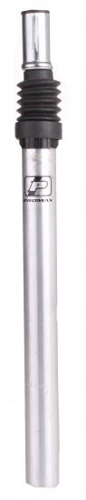 Promax Zadelpen verend 25,4 x 360 mm aluminium zilver