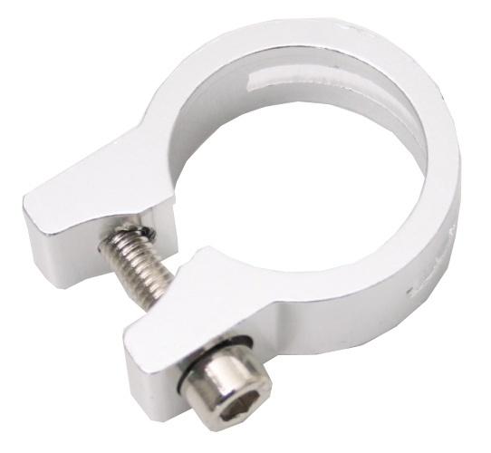 Promax Zadelpenklem 31,8 mm aluminium zilver