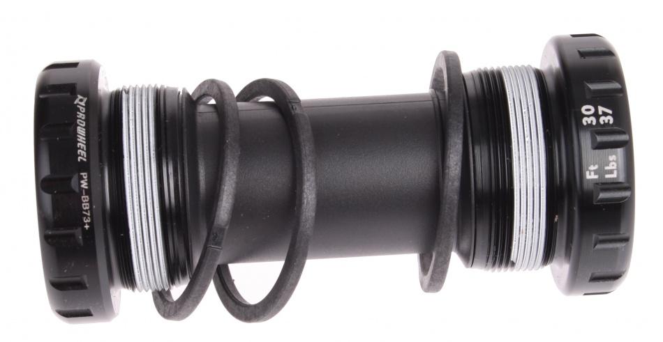 Prowheel Bottom bracket set MTB 68 73 / 68 mm zwart