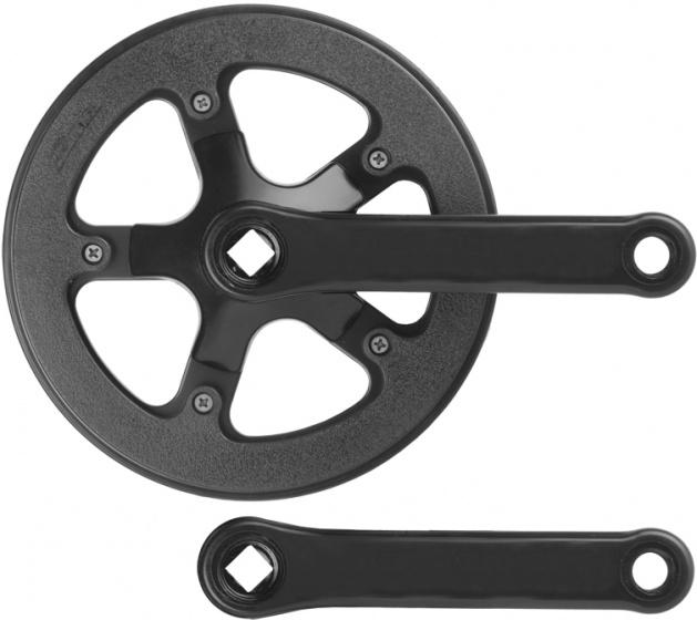 Prowheel crankstel 42T 152 mm 1/8 3/32 alu/staal matzwart