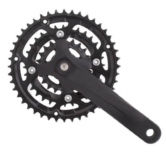Prowheel crankstel Flint 22 32 42T 170 mm alu/staal zwart
