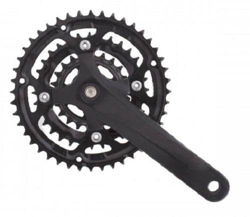 Prowheel crankstel Flint 22 32 42T 175 mm alu/staal zwart