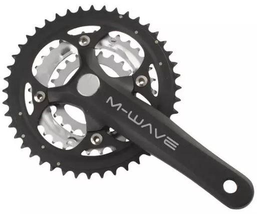 Prowheel crankstel met trapas 8 9 speed 22 32 44T 175 mm zwart
