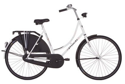 Puch Tradition 28 Inch 50 cm Dames Terugtraprem Wit