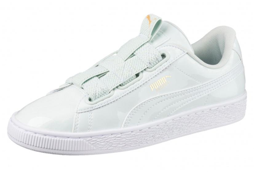 sneakers Basket Maze dames mintgroen