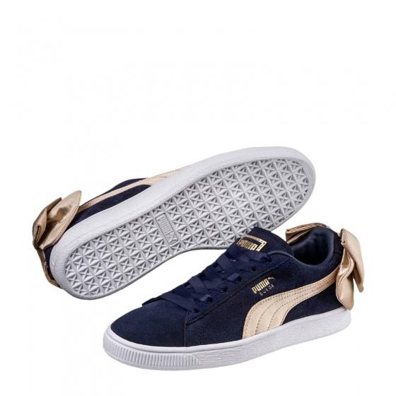 Puma sneakers Bow Varsity Wn's dames blauwgoud maat 37,5