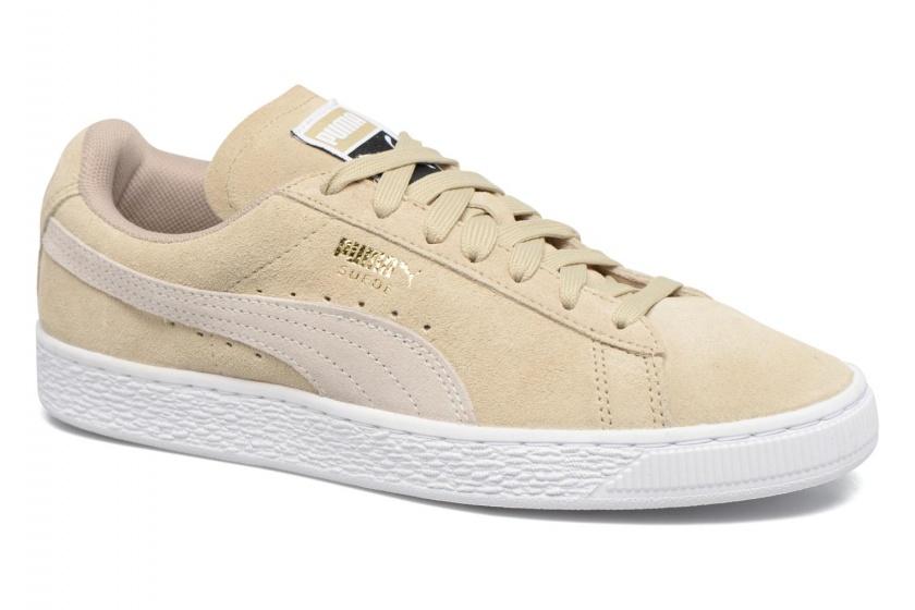 Sneakers Suede Classic Damen beige